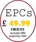 EPCs £45 in Leicestershire